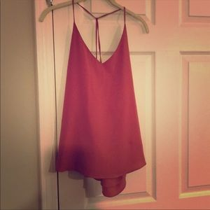 Dusty rose tank top